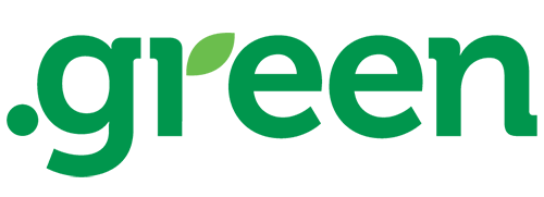 green domain logo