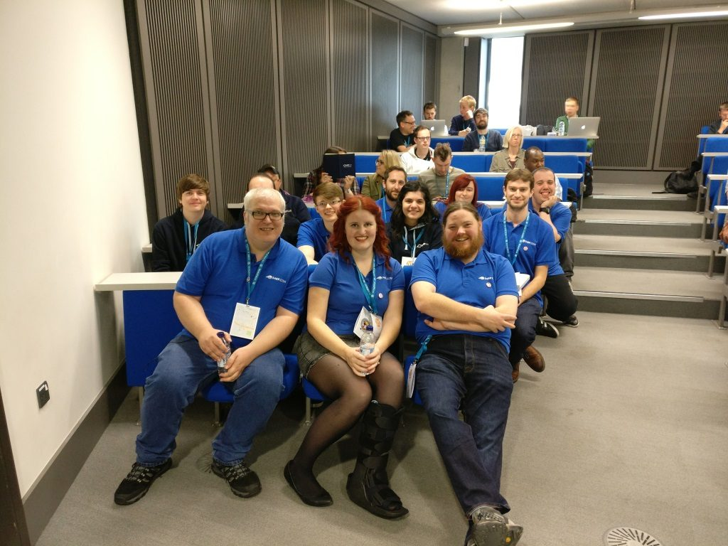 34SP.com team at WordCamp Manchester 2016