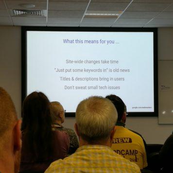 Juan Felipe Rincon WordCamp Dublin talk