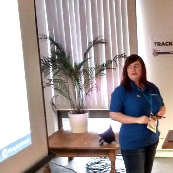 Kayleigh Thorpe on WordPress Plugin JetPack at WordCamp Edinburgh 2017