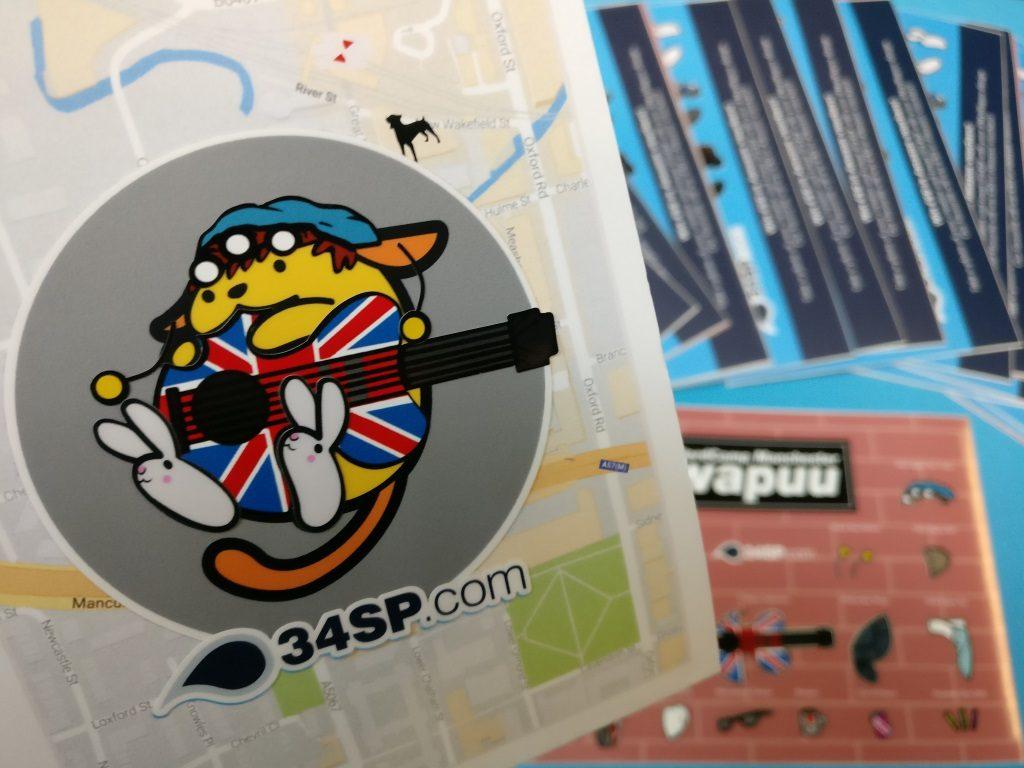 Mancunian Wapuu stickers