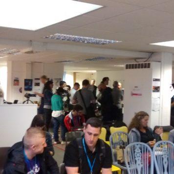 WordCamp Edinburgh attendees 2017