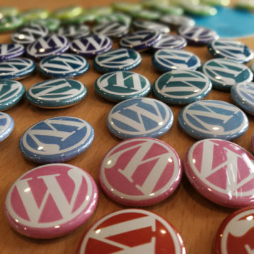 WordPress swag to collect