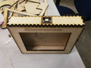 The fabricated box