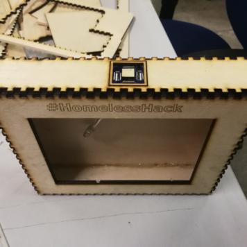 The fabricated box