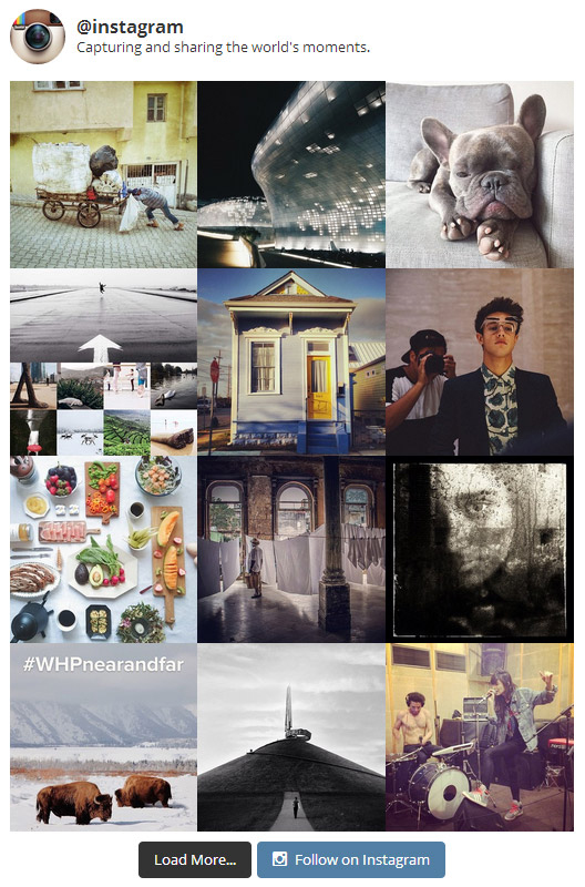 Favourite WordPress plugins Instagram Feed